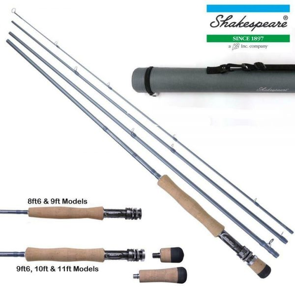 SHAKESPEARE AGILITY 2 – 4 PIECE FLY RODS