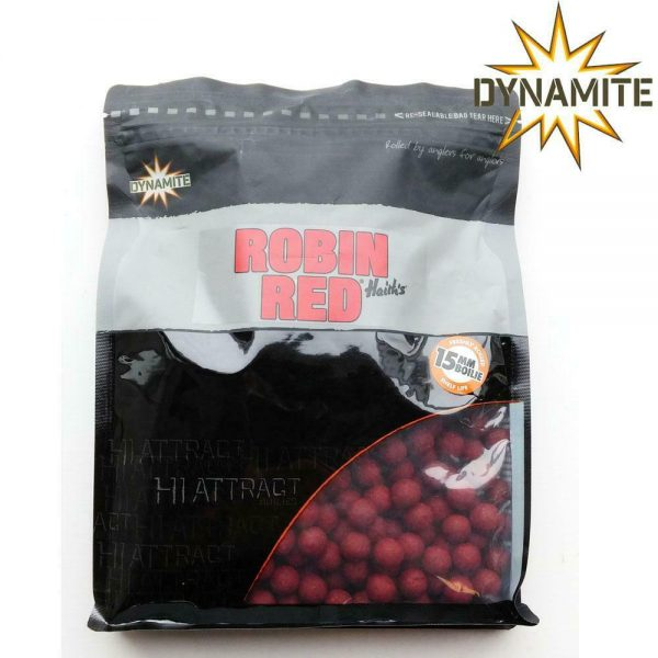 DYNAMITE BAITS ROBIN RED 15MM BOILIES 1KG