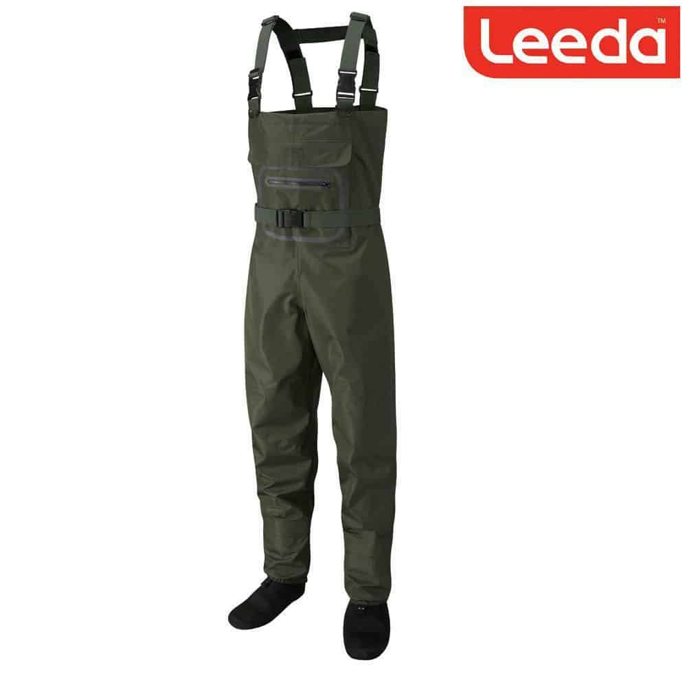 LEEDA PROFIL STOCKING FOOT BREATHABLE FLY FISHING CHEST WADER