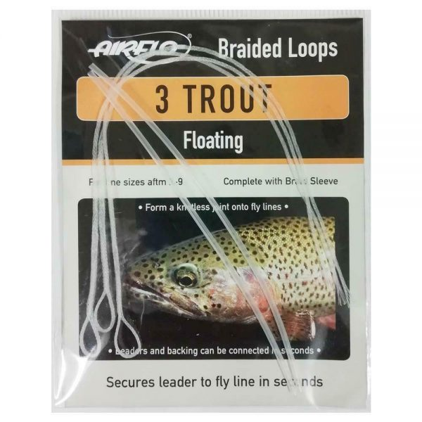 AIRFLO TROUT BRAIDED LOOPS FLOATING X3
