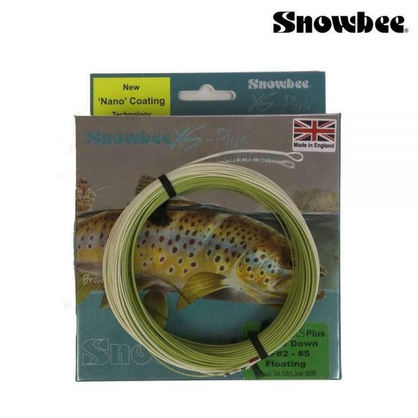 SNOWBEE XS THISTLE DOWN TFLOATING FLY LINE WF#2-5 NANO COATING