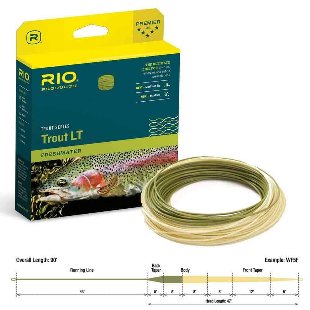 RIO LIGHT TOUCH FRESHWATER TROUT FLOATING FLY LINE