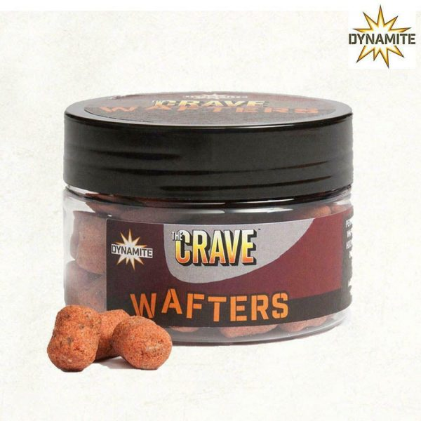 DYNAMITE BAITS CRAVE WAFTERS HOOKBAITS 15MM
