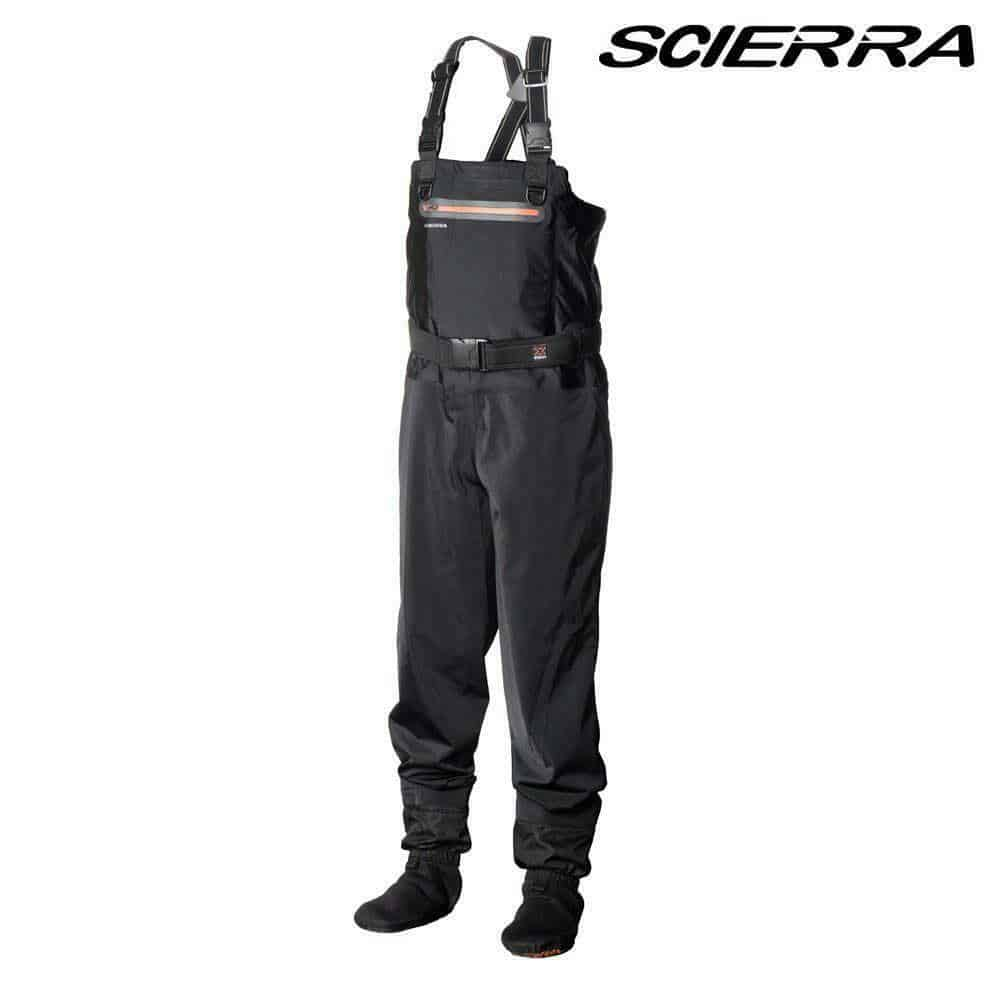 SCIERRA NEW X-STRETCH STOCKING FOOT BREATHABLE CHEST WADERS