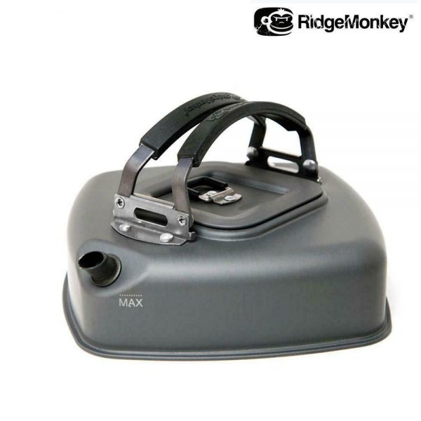 RIDGEMONKEY SMALL SQUARE KETTLE WITH CARRY BAG