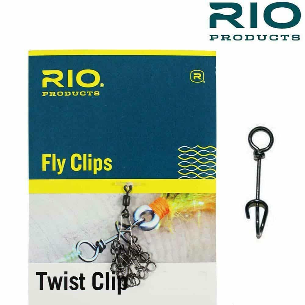 RIO TWIST CLIPS QUICK CHANGE FLY CLIPS 10 PACK