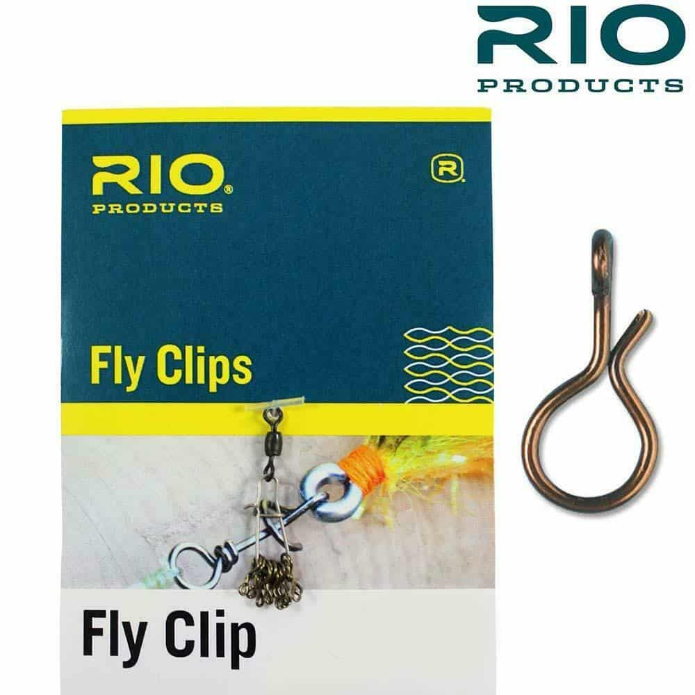 RIO FLY CLIPS QUICK CHANGE FLY CLIPS 10 PACK