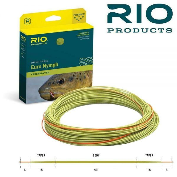 RIO FIPS EURO NYMPH FLYLINE #2-5