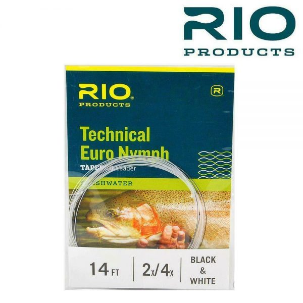 RIO TECHNICAL EURO NYMPH TAPERED LEADER 14FT