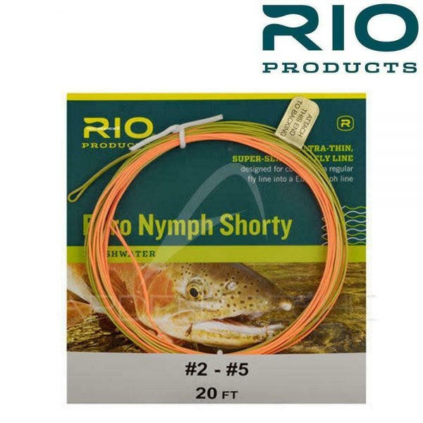 RIO EURO NYMPH SHORTY 20FT FLY LINE #2-5