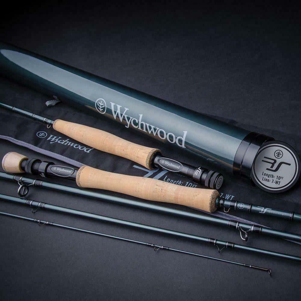 WYCHWOOD RS FLY RODS 4 PCS WITH CARBON TRAVEL TUBE