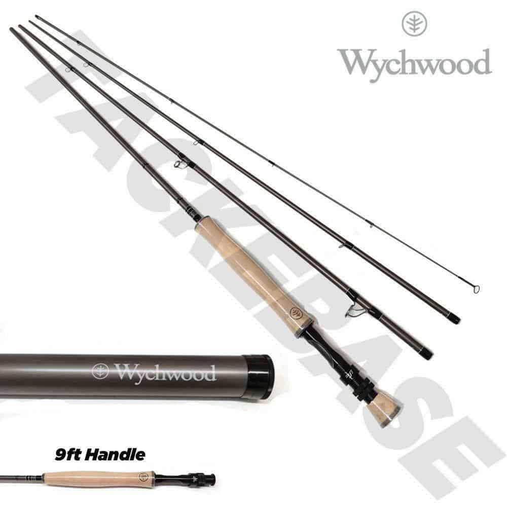 WYCHWOOD RS2 FLY RODS 4 PCS WITH CARBON TRAVEL TUBE
