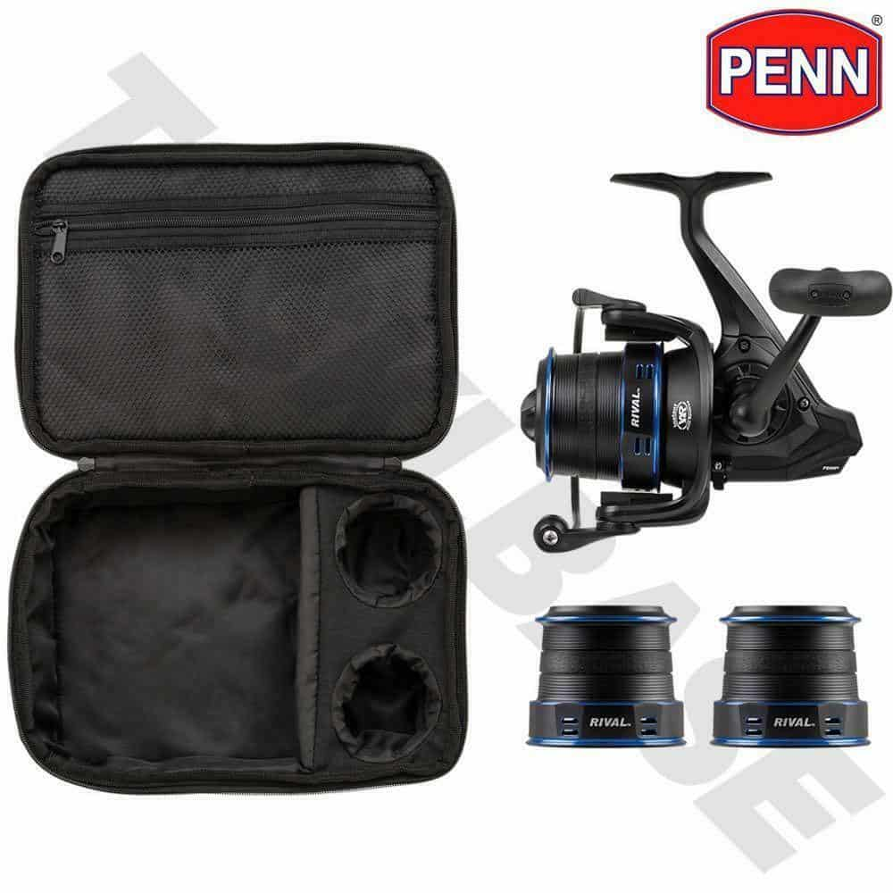 PENN RIVAL 7000 LONGCAST REEL –  WITH 2 SPARE SPOOLS