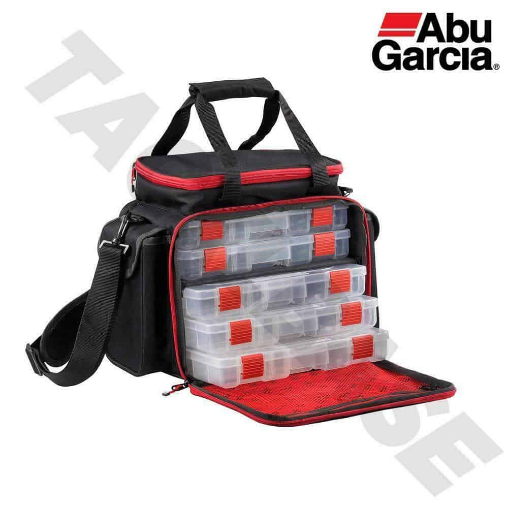 ABU GARICA LURE FISHING BAG WITH 5 BOXES – LARGE