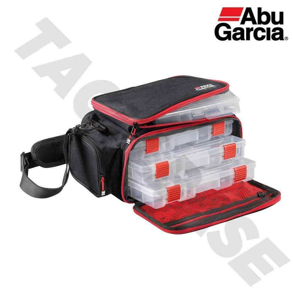 ABU GARICA MOBLIE LURE FISHING BAG WITH 4 BOXES