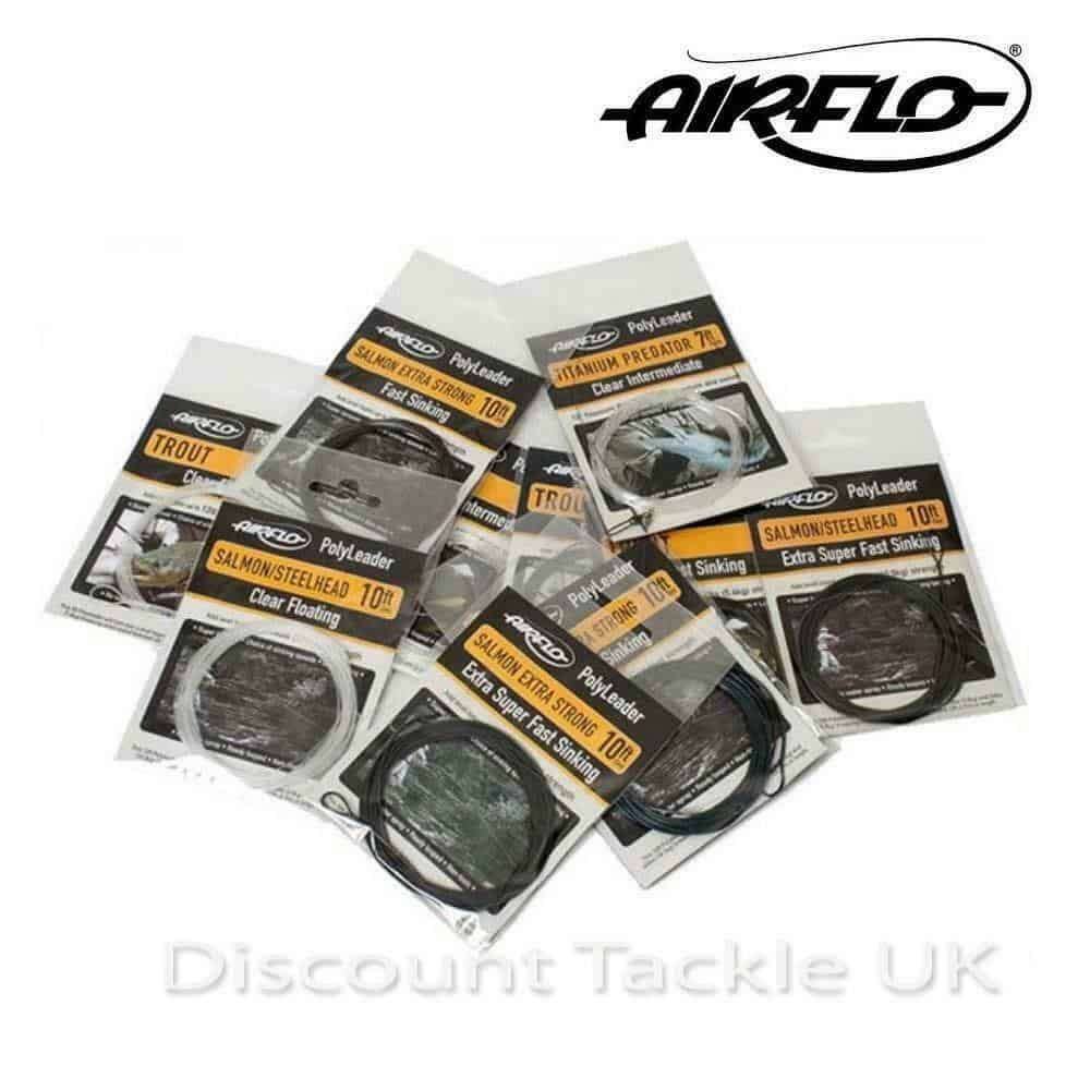 AIRFLO POLYLEADER  TROUT or SALMON POLY LEADERS