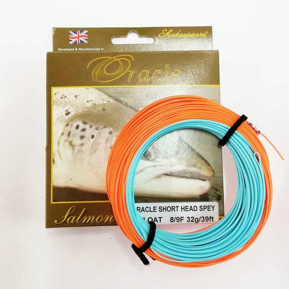 SHAKESPEARE ORACLE SCANDI SHORT HEAD SPEY FLY LINE