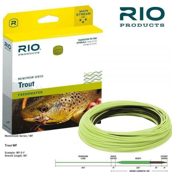 RIO MAINSTREAM TROUT SINK TIP FLY LINE