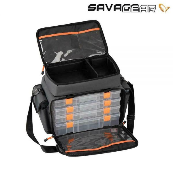 SAVAGE GEAR SPECIALIST LURE BAG WITH 6 BOXES