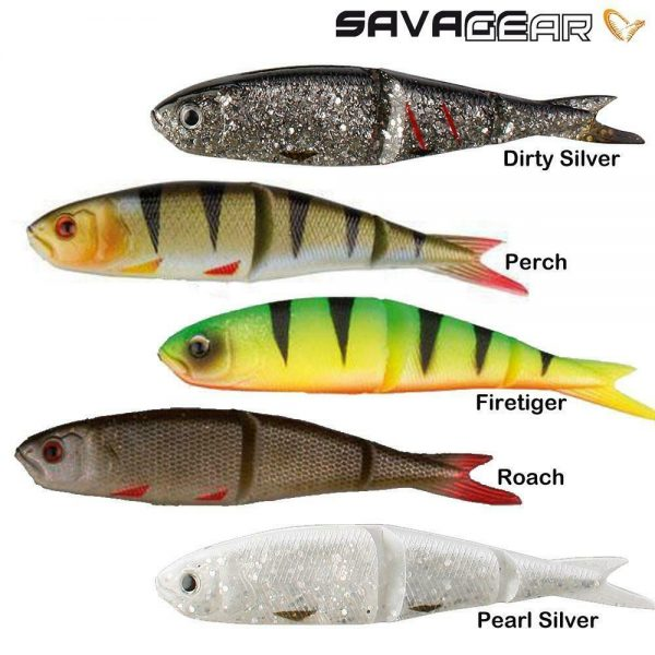 SAVAGE GEAR SOFT 4PLAY LOOSE BODY FISHING LURES  9.5 13cm