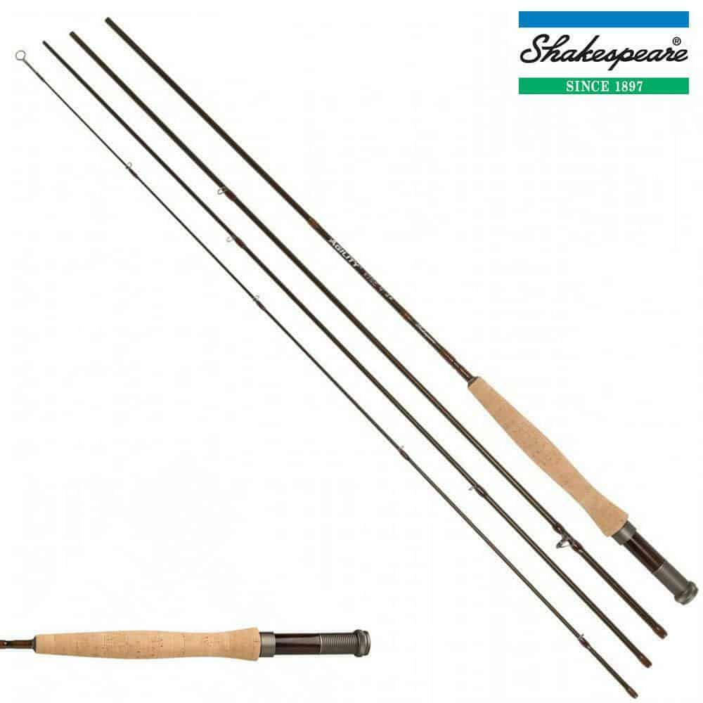 SHAKESPEARE AGILITY 2 RISE 4 PIECE FLY RODS