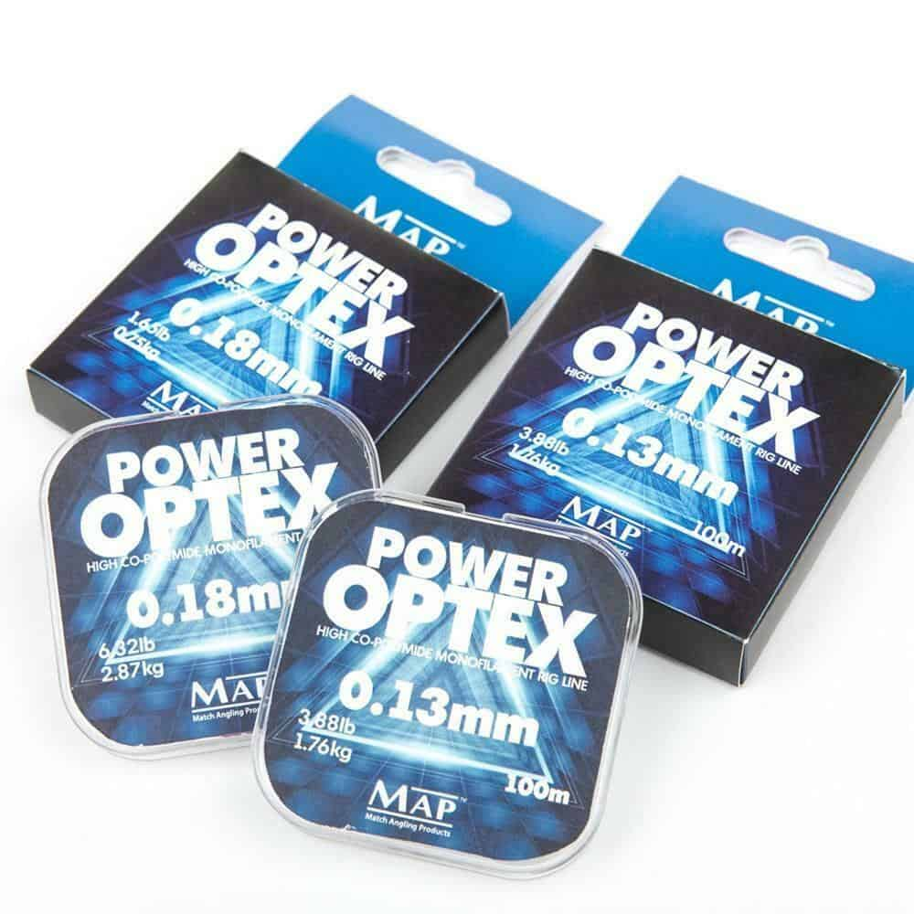 MAP POWER OPTEX  HIGH CO-POLYMIDE 100M SPOOLS