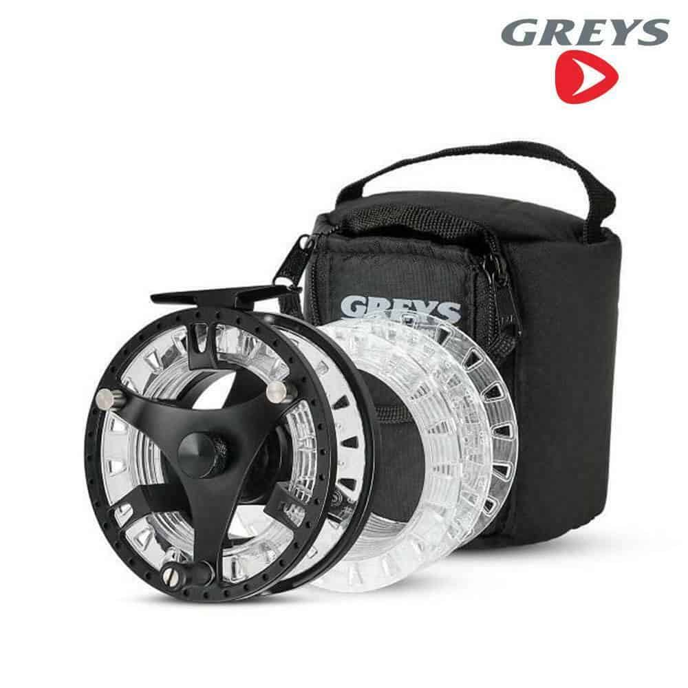 GREYS GTS 500 FLY  REEL – 2 SPARE SPOOLS