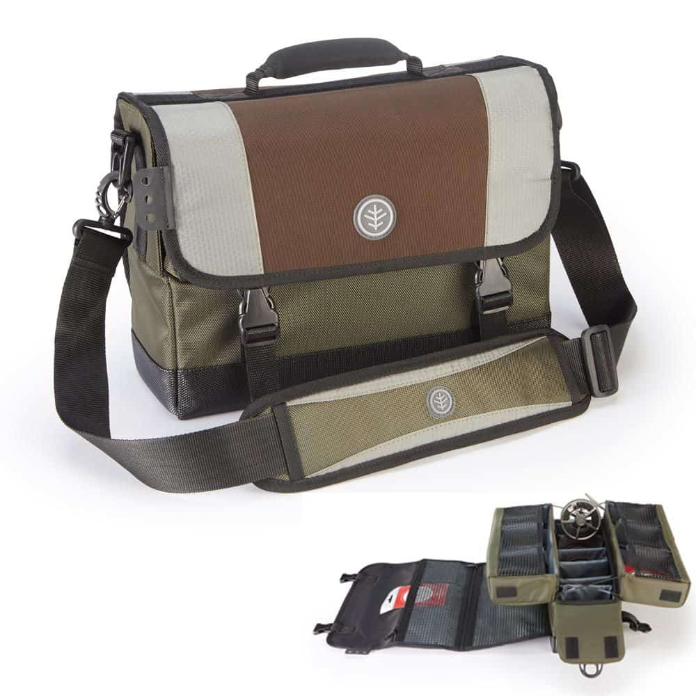 WYCHWOOD COMPETITION FLY REEL STORAGE BAG FLY FISHING REEL BAG/CASE