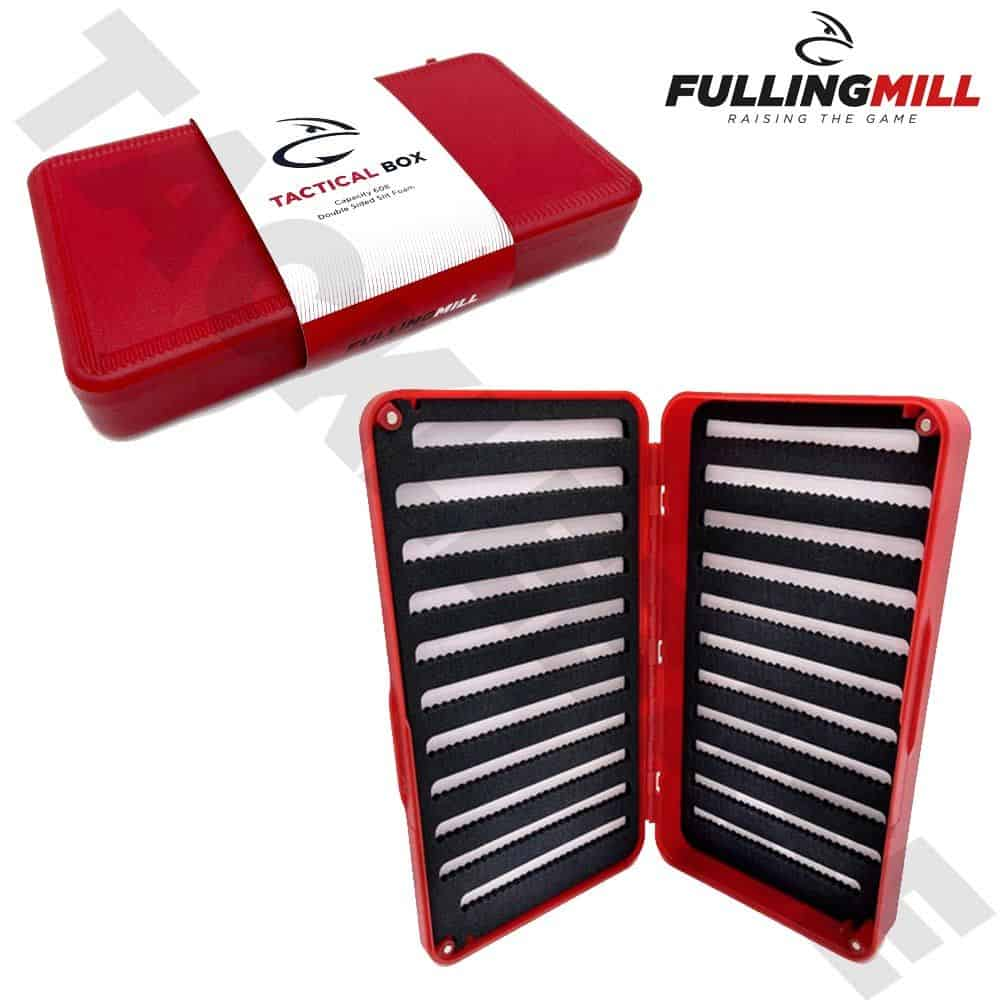FULLING MILL NEW TACTICAL FLY BOX HOLDS 600 FLIES – FLY FISHING