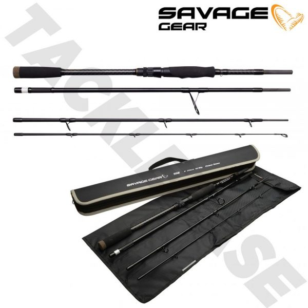 SAVAGE GEAR SG2 POWER GAME TRAVEL RODS – NEW 2021 – LURE RODS
