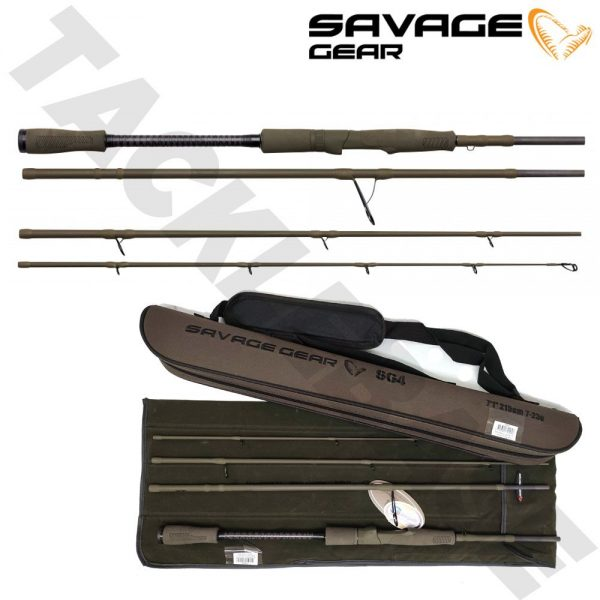 SAVAGE GEAR SG4 POWER GAME TRAVEL RODS 4PCS- NEW 2021