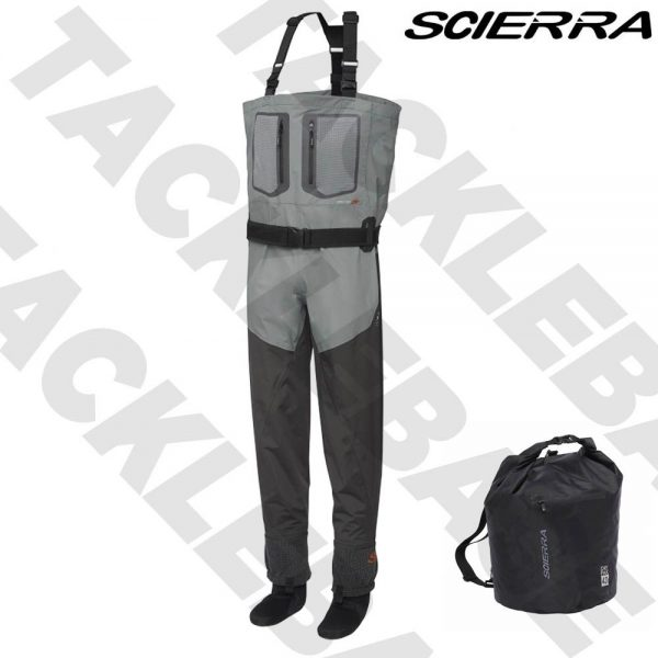 SCIERRA NEW YOSEMITE 30000 STOCKING FOOT BREATHABLE CHEST WADERS