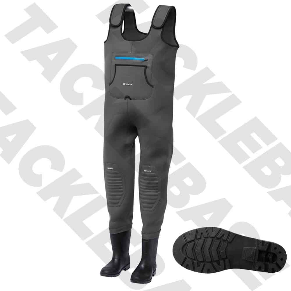 RON THOMPSON BREAK-POINT NEOPRENE CHEST WADERS CLEATED SOLE – HUNTING FISHING ETC