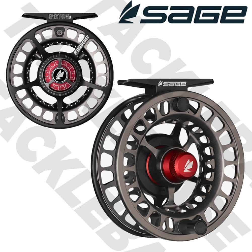 SAGE FLY FISHING REEL SPECTRUM LT EMBER SERIES – SALMON TROUT FLY FISHING