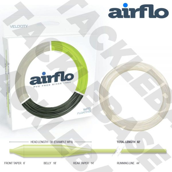 AIRFLO VELOCITY INTERMEDIATE CLEAR FLY LINE WF 5 6 7 8 CHOOSE SIZE