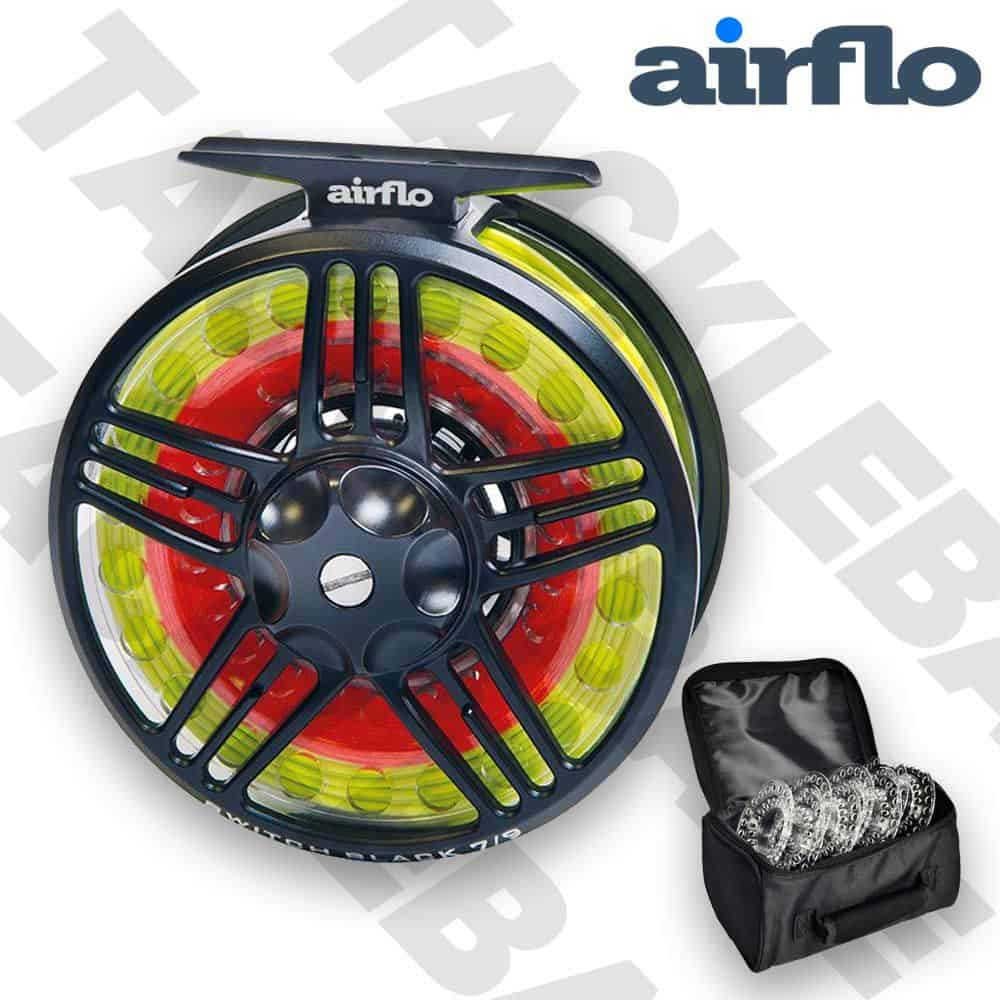 AIRFLO SWITCH FLY FISHING REEL + 5 SPOOLS & CARRY CASE – 4/7 | 7/9