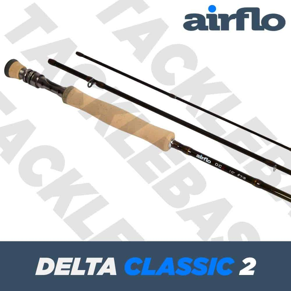 AIRFLO DELTA CLASSIC 2 FLY FISHING ROD – 3 PIECE ROD – ALL SIZES