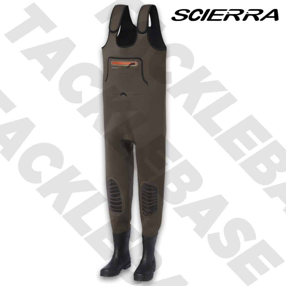 SCIERRA KENAI NEO 4MM CHEST WADERS BOOTFOOT CLEATED